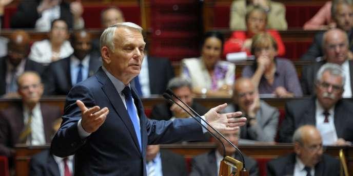 Jean-Marc Ayrault, à l'Assemblée nationale, le 3 juillet.