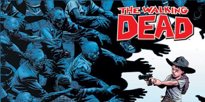 La bande dessinée The Walking Dead s'est écoulée à environ un million d'exemplaires en France, tous tomes confondus.