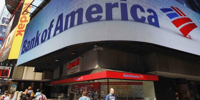 Au deuxième trimestre, le bénéfice de Bank of America a chuté de 43 %, à 2,3 milliards de dollars.