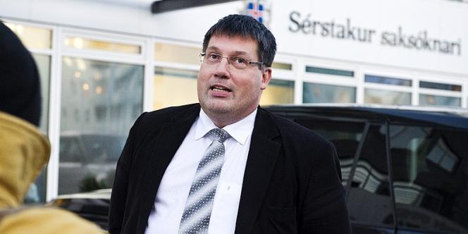 Olafur Hauksson, procureur spécial chargé d'enquêter sur la crise.