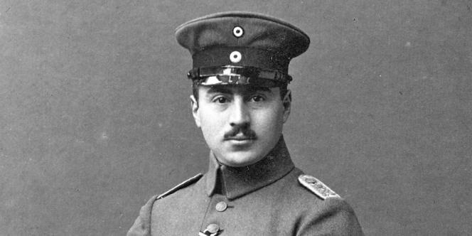 L'officier Ernst Hess en 1918.
