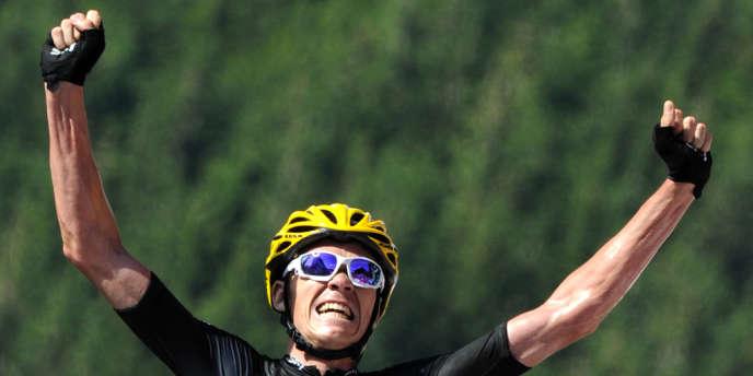 Le Britannique Chris Froome (Sky) a remporté samedi la 7e étape du Tour de France, samedi 7 juillet.