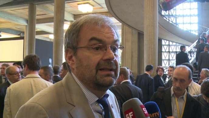 Le leader de la CFDT, François Chérèque, lors de la