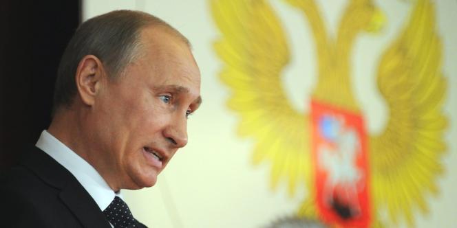 Vladimir Poutine, le 9 juillet 2012.