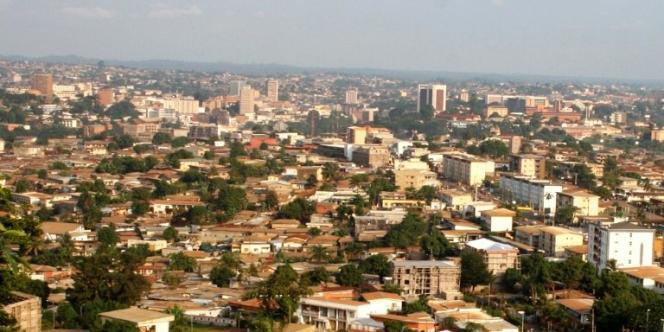 Vue de Yaoundé, capitale du Cameroun.