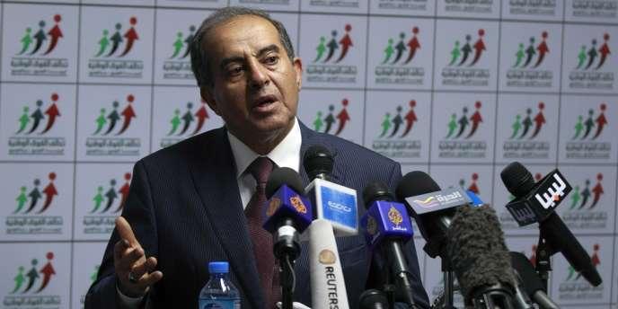 Mahmoud Jibril, leader de l'Alliance des forces nationales, le 8 juillet 2012.