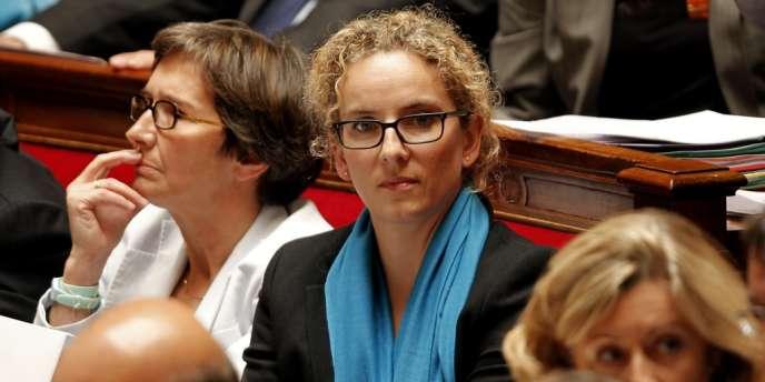 La désormais ex-ministre de l'écologie, Delphine Batho, ici à l'Assemblée nationale le 11 juillet 2012, dira