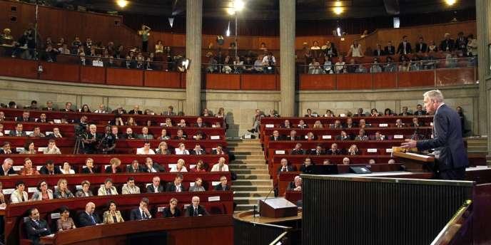 Discours de Jean-Marc Ayrault au Conseil économique, social et environnemental, à Paris le mercredi 10 juillet.