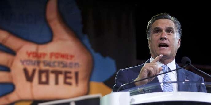 M. Romney refuse de rendre public ses déclarations d'impôt des dix dernières années.