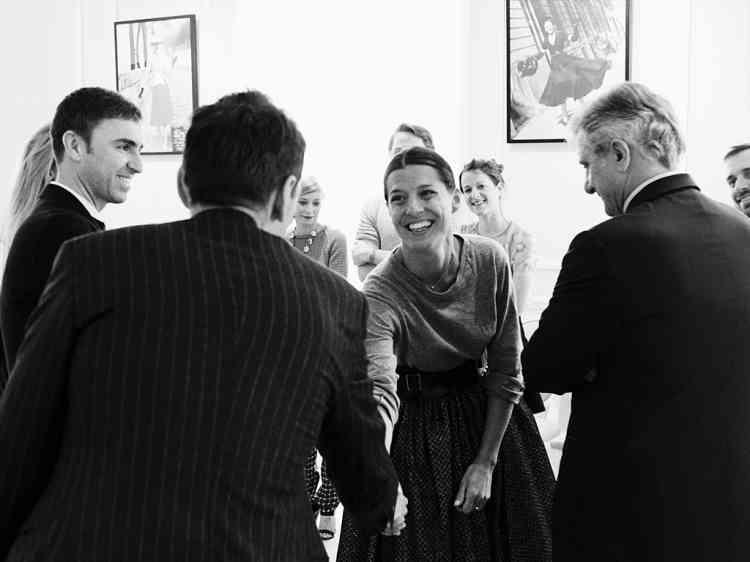 Camille Miceli,  directrice artistique  des accessoires. Photo : Dior couture