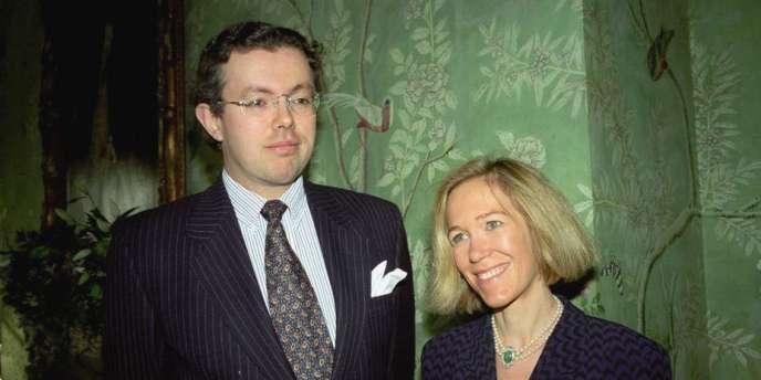 Le couple Rausing en 1996.