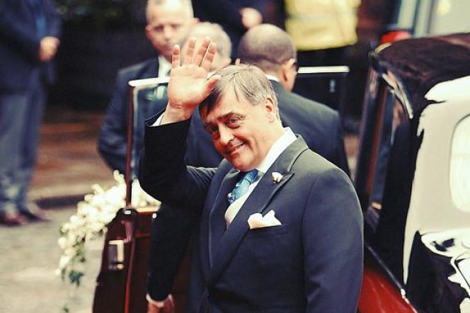 Le duc, au mariage de sa fille, lady Tamara Grosvenor, avec un proche du prince Charles, le 6 novembre 2004, à Chester.