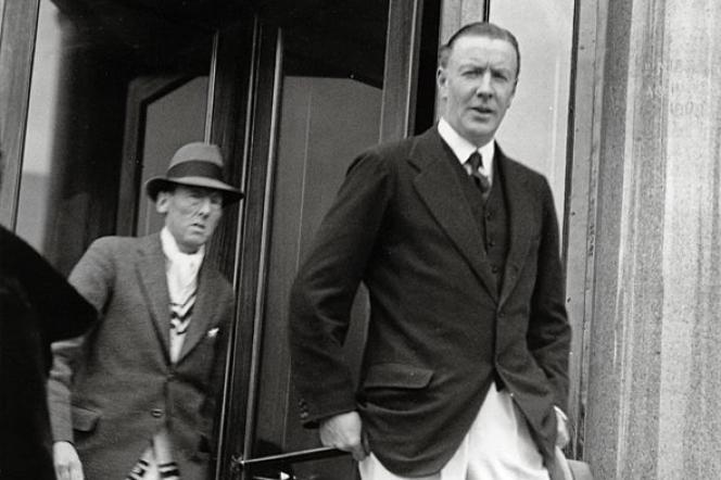 Hugh Grosvenor, deuxième duc  de Westminster (1879-1953), en visite à Monaco, en 1924.