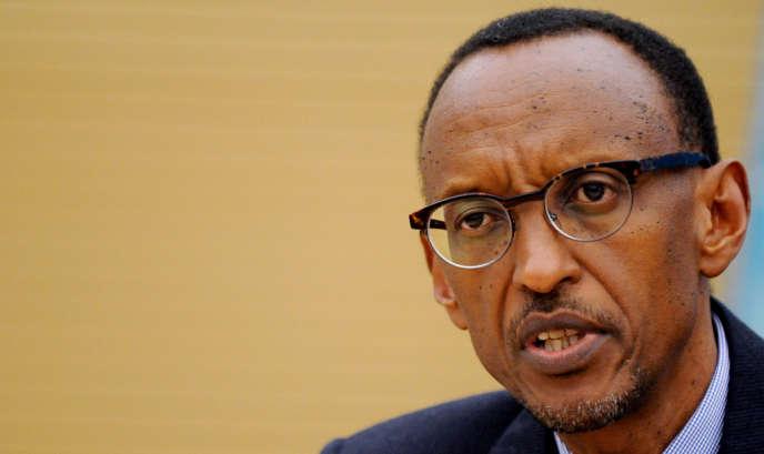 Le président rwandais, Paul Kagamé, en février 2012, à Rome.