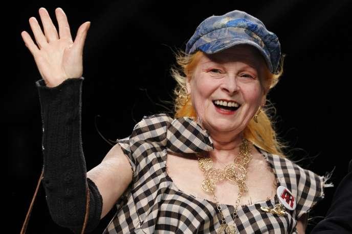 La créatrice britannique Vivienne Westwood.