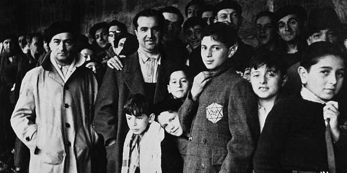 67000 juifs de France ont transité au camp de Drancy (ici, en 1942) avant d'être déportés dans les camps d'extermination nazis.