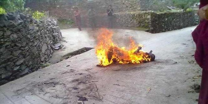 Un moine tibétain de 18 ans s'est immolé le 17 juillet pour protester contre le pouvoir chinois.