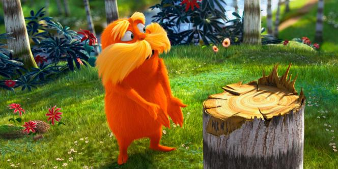 Une scène du film d'animation américain
