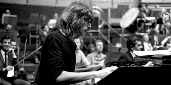 Le claviériste de Deep Purple, Jon Lord, le 23 septembre 1969.