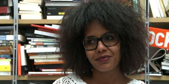 Audrey Pulvar, directrice en charge de l'éditorial des