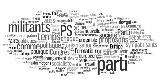 Contribution de Gaëtan Gorce en vue du congrès du PS de 2012.