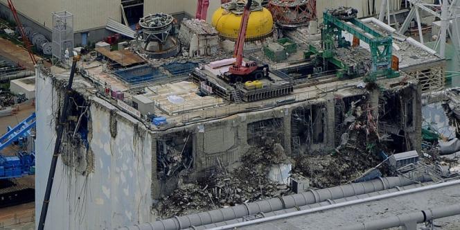 Vue de la centrale nucléaire de Fukushima le 18 juillet 2012.