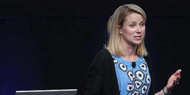 Marissa Mayer, nouvelle directrice générale du portail Internet Yahoo!
