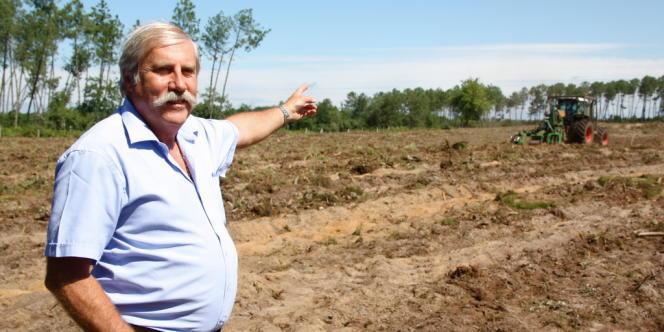 Patrick Sadot espère pouvoir achever les travaux de nettoyage et de reboisement engagés.
