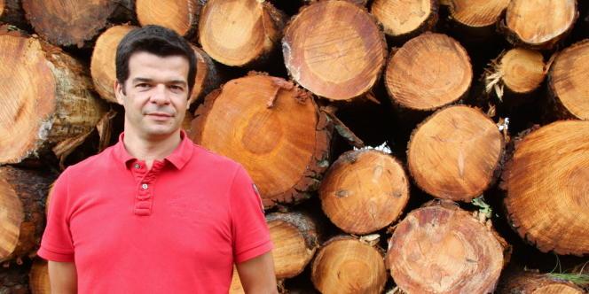 Philippe Pourtau, président de Bordeaux atlantique bois, entreprise d'exploitation forestière d'Aquitaine.