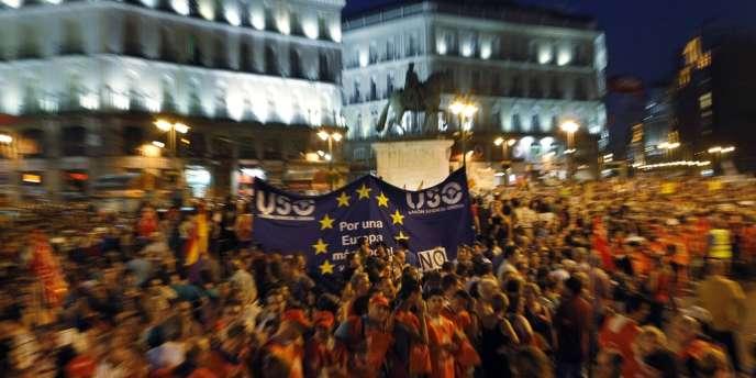 Madrid, jeudi soir 19 juillet 2012.
