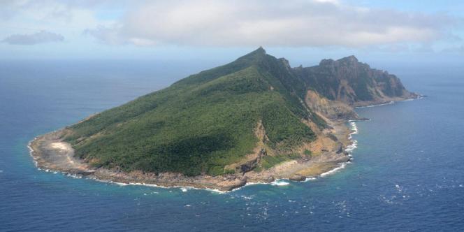 L'île Uotsuri appartient à l'archipel des îles Senkaku-Diaoyu, que se disputent la Chine et le Japon.