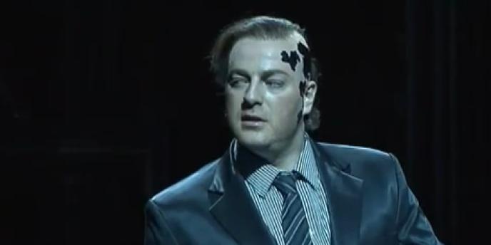 Le chanteur d'opéra russe Evgueni Nikitine.