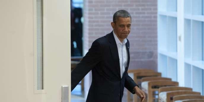 M. Obama a affirmé être venu à Aurora