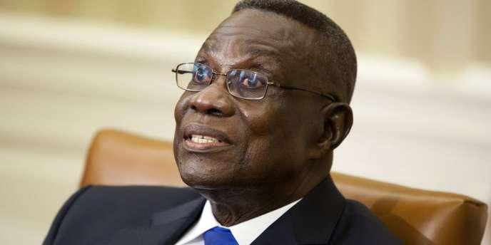 John Atta Mills, le 8 mars 2012.