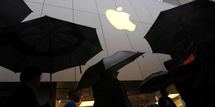 Le logo d'Apple.