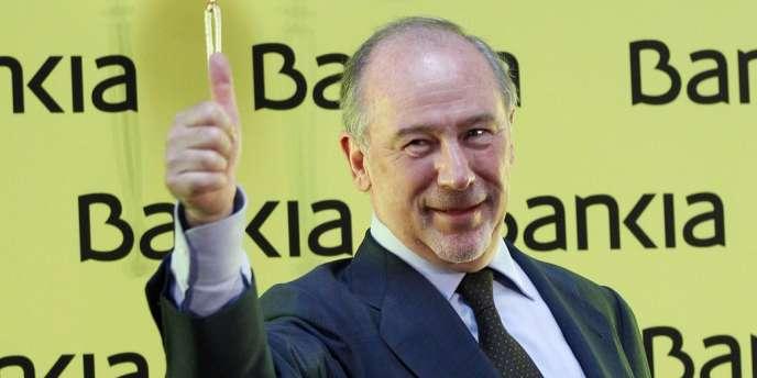 L'ancien patron de Bankia, Rodrigo Rato, est accusé d'avoir mené l'ex-caisse d'épargne Caja Madrid à la faillite.
