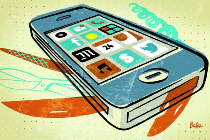 Les smartphones bousculent notre quotidien.
