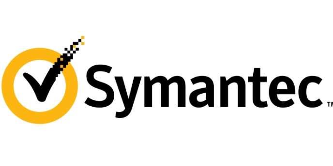 Le logo de l'éditeur de logiciels Symantec.
