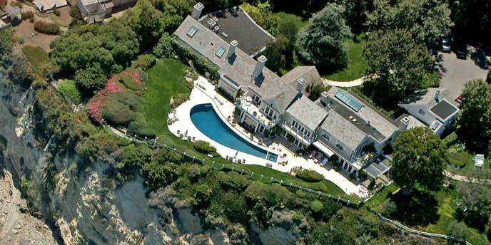 La maison de Barbara Streisand à Malibu.