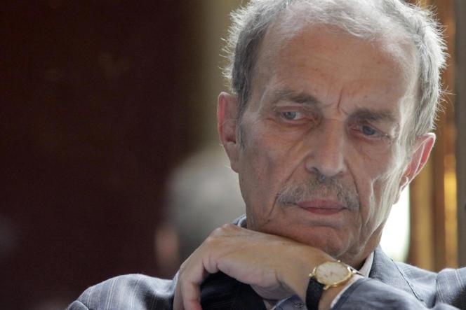 Franz West le juin 2011 à Vienne. L'artiste autrichien est mort le 26 juillet à l'âge de 65 ans.