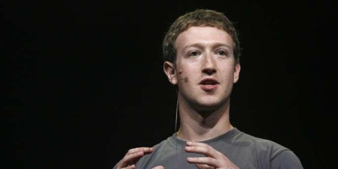 Le PDG fondateur de Facebook, Mark Zuckerberg.
