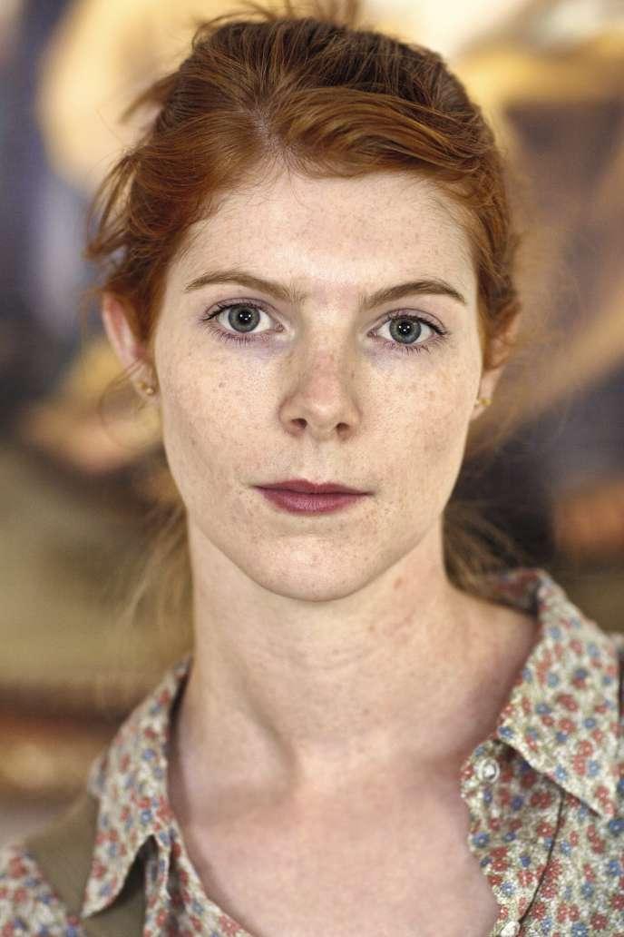 Une visiteuse du musée du Prado.