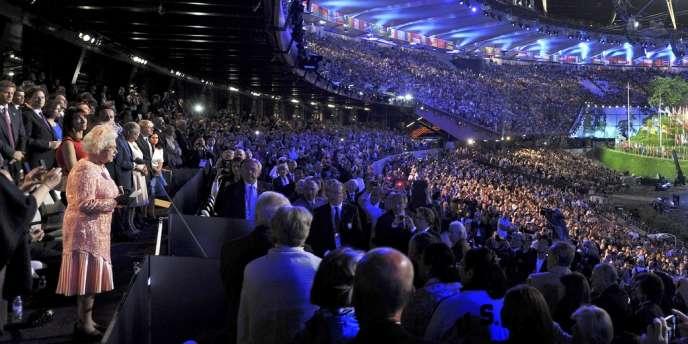 La reine Elizabeth présente vendredi à la cérémonie d'ouverture des JO de Londres.