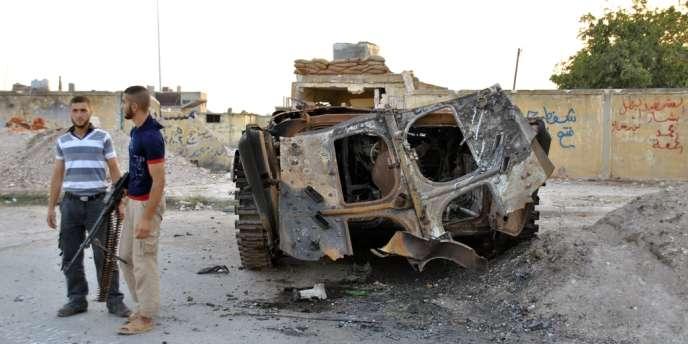 Les insurgés sont parvenus samedi à contrer les premières attaques de l'armée contre le quartier de Salaheddine, bastion rebelle et principale cible de l'assaut.