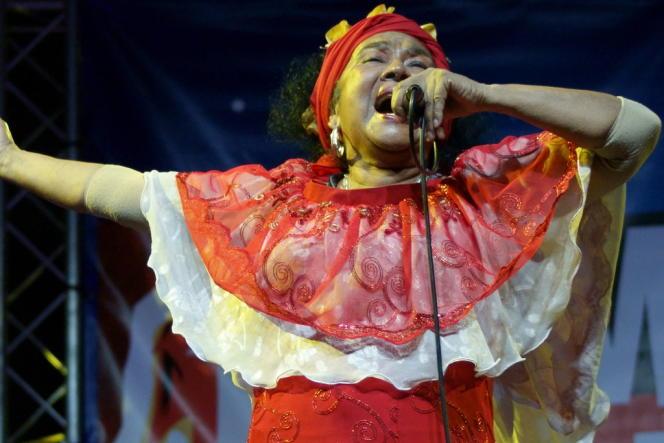 Toto La Momposina au festival Tempo Latino 2012.