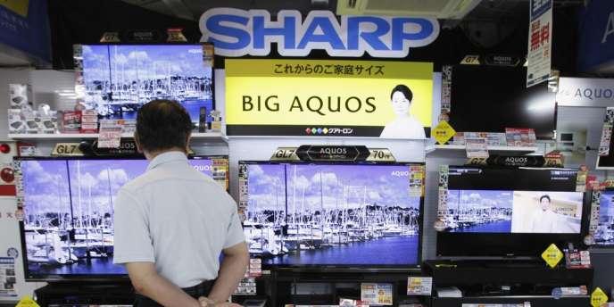 Le plan de Sharp prévoit notamment une restructuration de son activité de télévisions à écran à cristaux liquides.