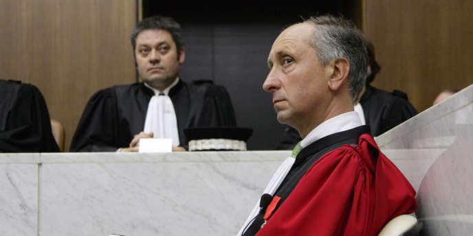 Philippe Courroye, ex-procureur de la République à Nanterre, et nouvel avocat général à la cour d'appel de Paris.