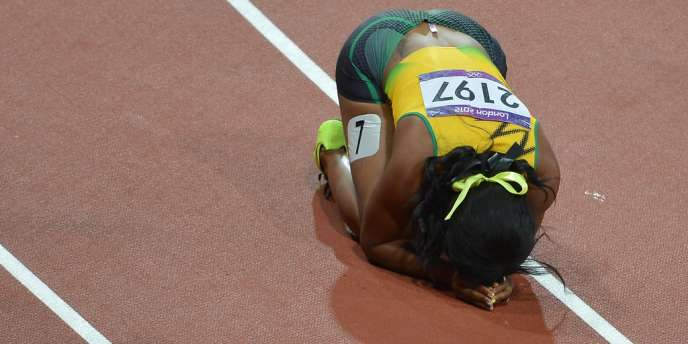 Shelly-Ann Fraser-Pryce est championne olympique du 100 m féminin.