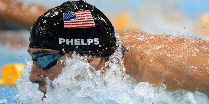 Samedi, Michael Phelps est pour la 18e fois en or grâce au relais du 4 x 100 m 4 nages.