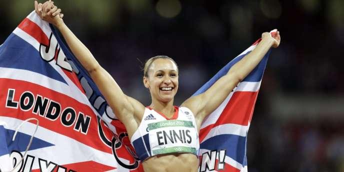 Jessica Ennis.